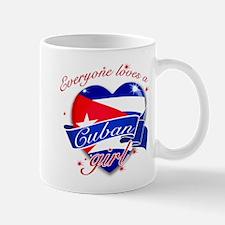 I heart Cuban Designs Mug