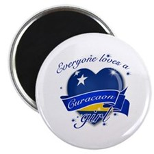 I heart Curacaon Designs Magnet