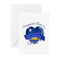 I heart Curacaon Designs Greeting Cards (Pk of 20)