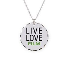 Live Love Film Necklace
