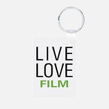 Live Love Film Keychains