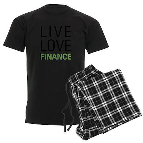 Live Love Finance Men's Dark Pajamas