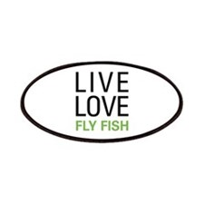Live Love Fly Fish Patches