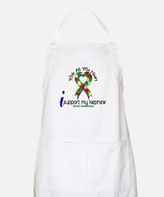 With All My Heart Autism Apron