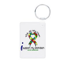 With All My Heart Autism Keychains