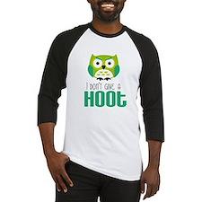 Angry owl Baseball Jersey