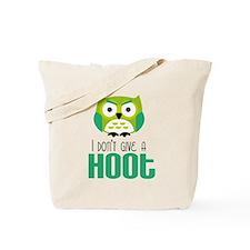Angry owl Tote Bag