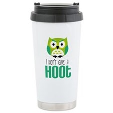 Angry owl Travel Mug