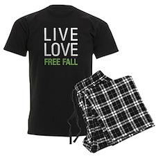 Live Love Free Fall Pajamas