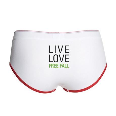Live Love Free Fall Women's Boy Brief