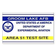 Area 51 Pass Decal