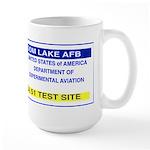 Area 51 Pass Large Mug