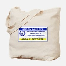Area 51 Pass Tote Bag