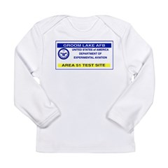 Area 51 Pass Long Sleeve Infant T-Shirt