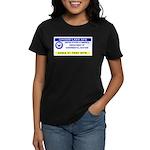 Area 51 Pass Women's Dark T-Shirt
