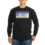 Area 51 Pass Long Sleeve Dark T-Shirt