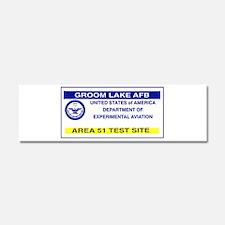 Area 51 Pass Car Magnet 10 x 3