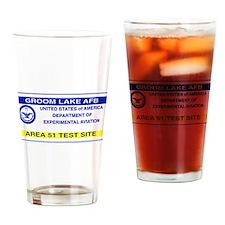 Area 51 Pass Drinking Glass