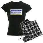 Area 51 Pass Women's Dark Pajamas
