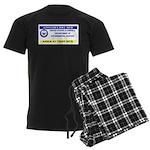 Area 51 Pass Men's Dark Pajamas