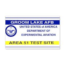 Area 51 Pass Wall Sticker