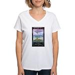 To Unimagined Shores Women's V-Neck T-Shirt