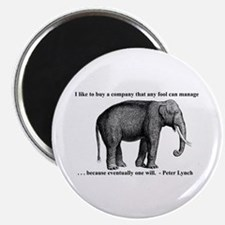 A Wise Elephant (magnet)