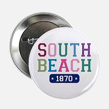 """South Beach 1870 2.25"""" Button"""