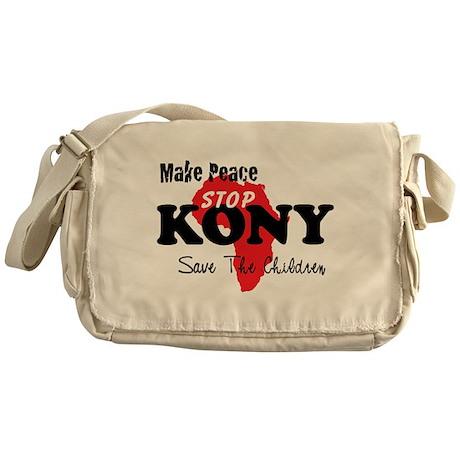Stop Kony 2012 Messenger Bag