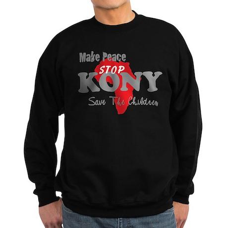 Stop Kony 2012 Sweatshirt (dark)