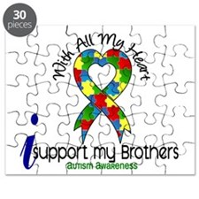 With All My Heart Autism Puzzle