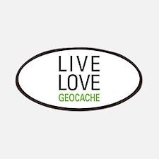 Live Love Geocache Patches