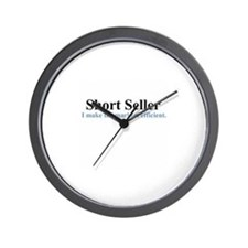 Short Seller (wall clock)
