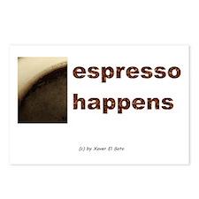 Espresso Happens: Postcards (Package of 8)