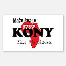 Stop Kony 2012 Bumper Stickers