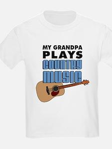 Grandpa Country Music T-Shirt