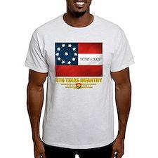4th Texas Infantry (flag 10) T-Shirt
