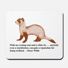 Stockbroker (mouse pad)