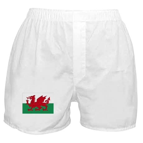 Welsh Red Dragon Boxer Shorts