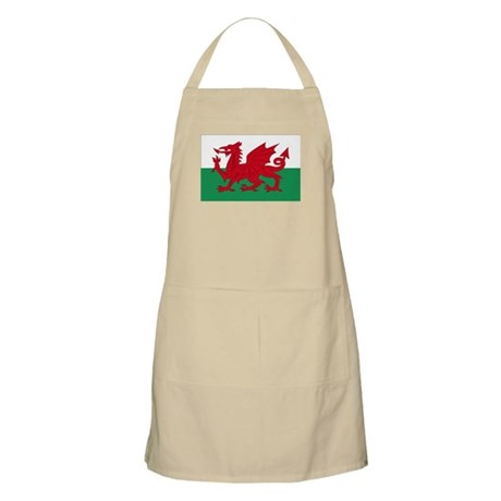 Welsh Red Dragon BBQ Apron
