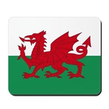Welsh Red Dragon Mousepad