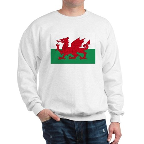 Welsh Red Dragon Sweatshirt
