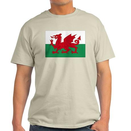 Welsh Red Dragon Light T-Shirt