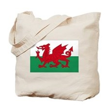 Welsh Red Dragon Tote Bag