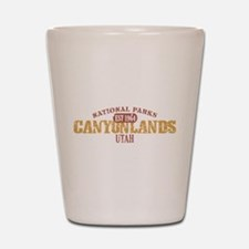 Canyonlands National Park UT Shot Glass
