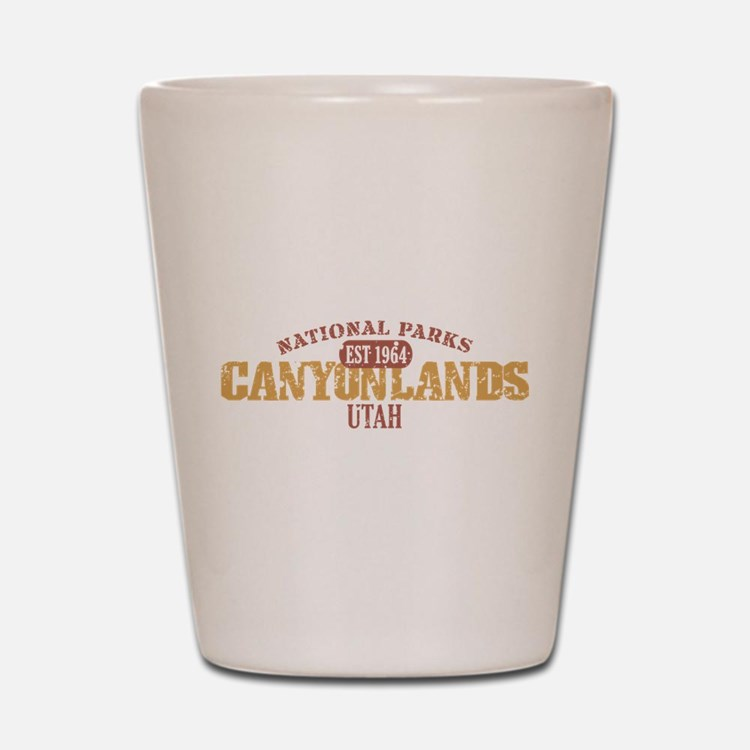 Canyonlands National Park UT Shot Glass