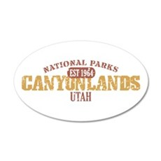 Canyonlands National Park UT 38.5 x 24.5 Oval Wall