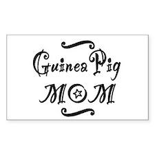 Guinea Pig MOM Decal