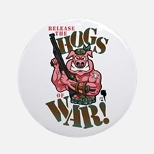 Hogs of War Ornament (Round)