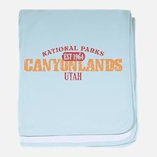 Canyonlands National Park UT baby blanket